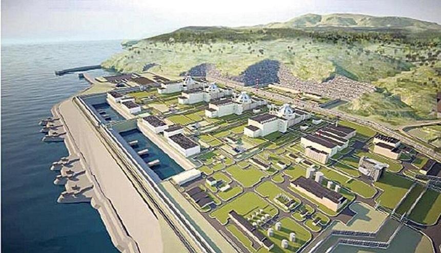 MERSİN Akkuyu Nükleer Enerji Santrali